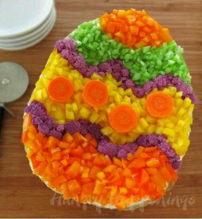 Easter egg salad | food | Pinterest