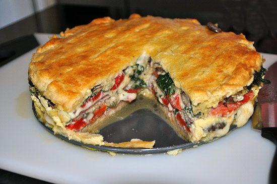 italian breakfast torte. | Breakfast | Pinterest