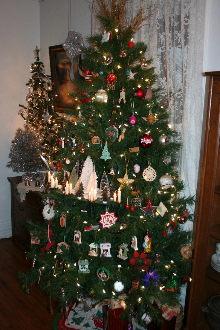 Tree shelf christmas crazy pinterest