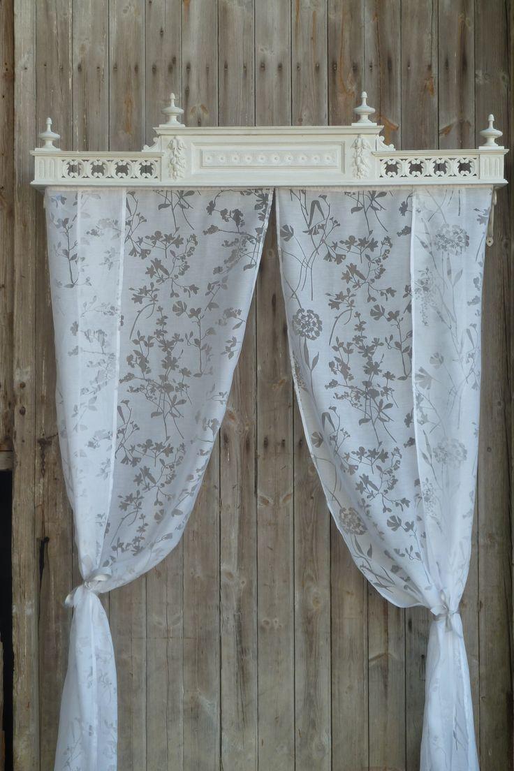 Fabriquer Ciel De Lit Bois : Ciel de lit style-et-k-ractaire.e-monsite.com Pinterest