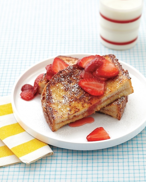 Peanut Butter-Stuffed French Toast - Kids can help cook it. They'll love to eat it, too!