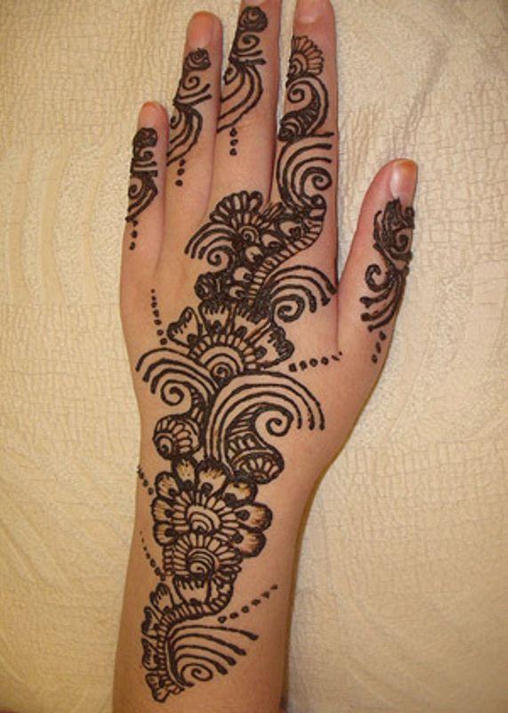 Arm Mehndi Designs : Stunning mehndi designs for arms