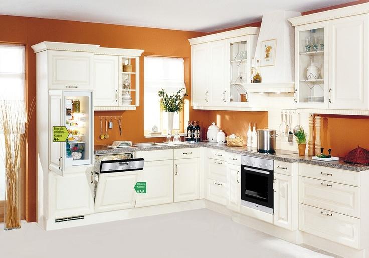 wunderschöne küche mit hintergrundakzent home
