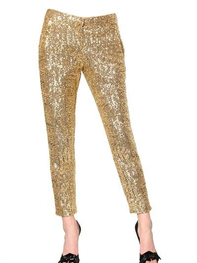 Sequin Pants!