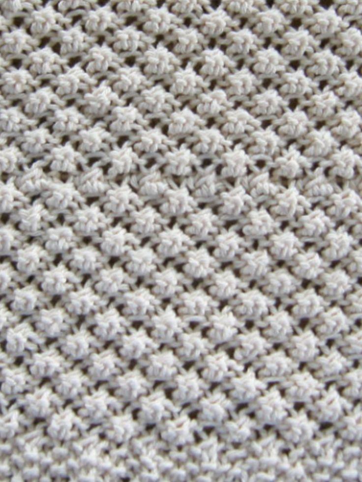 Raspberry Stitch Knit Hat Pattern : Raspberry knit stitch. PLETENi Pinterest