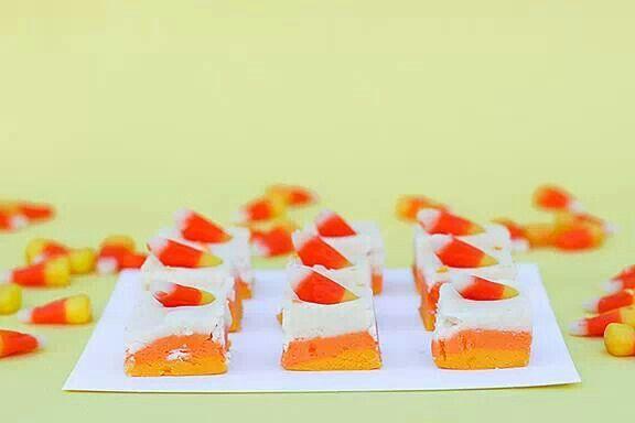 Candy corn fudge | Candy Corn | Pinterest