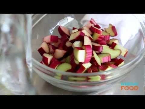 Strawberry-Rhubarb Sangria | Recipe