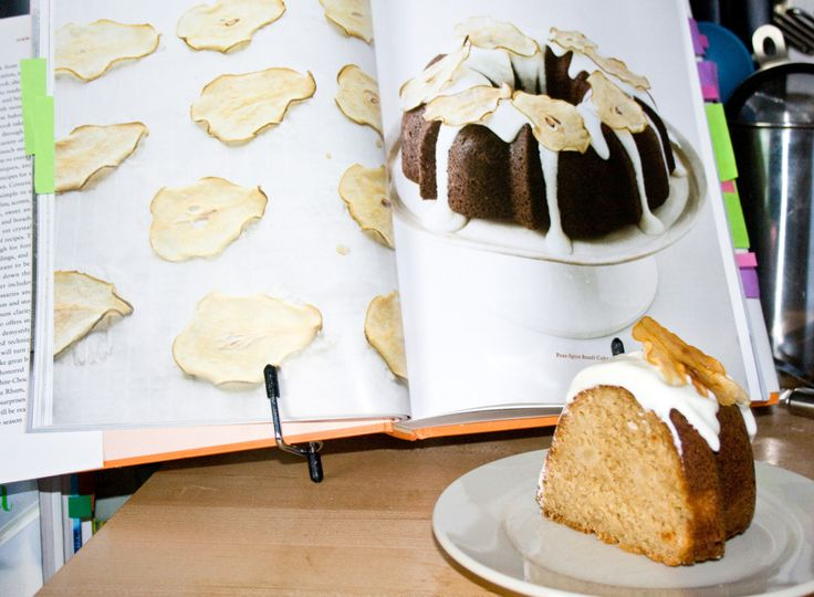 Pear Spice Bundt Cake with Cream Cheese Frosting from Martha Stewart's ...