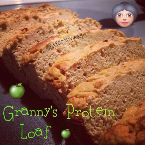 Granny's Protein Loaf | Protein bars/fitness food | Pinterest
