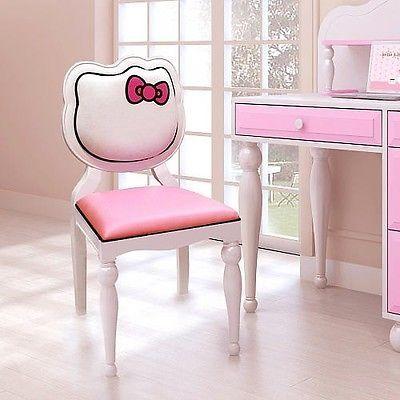 desk chair girls pink furniture character bedroom living room new