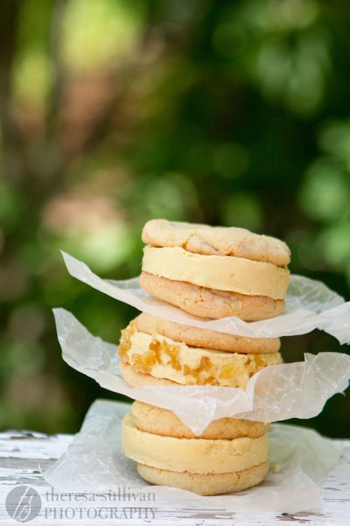 Cream Sandwiches, made with dairy-free and egg-free mango ice cream ...