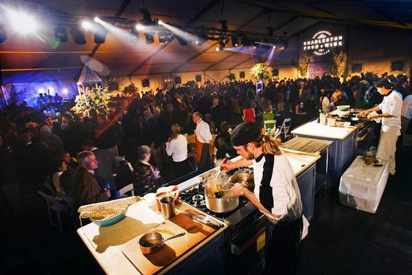 Opening night of Charleston's Wine and Food Festival http://www ...