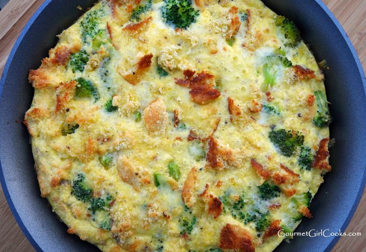 ... cooks sausage broccoli amp biscuit frittata low carb amp grain free