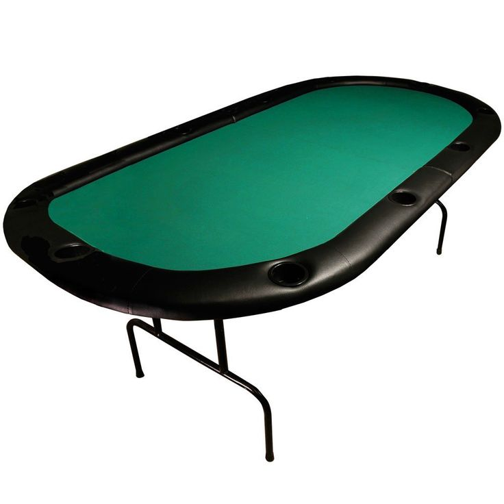 Amazon.com: Trademark Global 84 X 42 Texas Holdem Poker Padded Folding Table: Sports & Outdoors