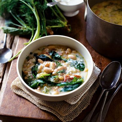 soup with white beans recipes yummly white bean bacon and spinach soup ...