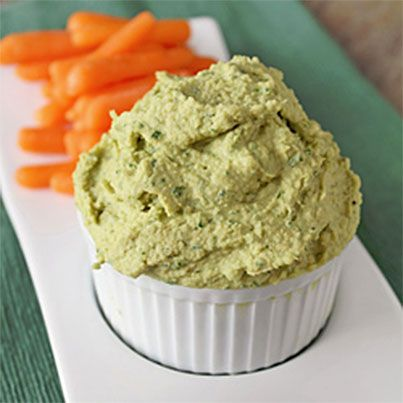 Cheezy Ranch Hummus   Perfect for Entertaining   Pinterest
