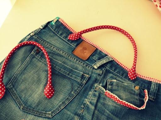 DIY: Jeanstasche
