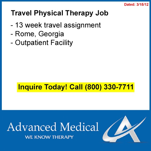 travel outpatient physical therapist jobs