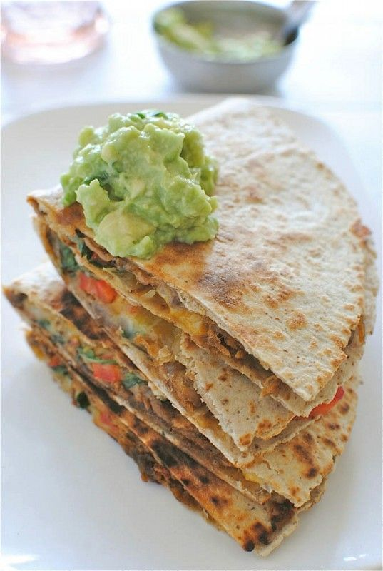 We love these Chipotle Steak Quesadillas for game day!