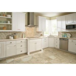 Hampton bay shaker style cabinets bahama house pinterest for Hampton bay white kitchen cabinets
