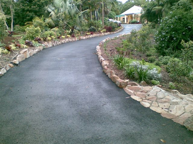 Landscaping A Sloping Driveway : Sloped driveway design google search landscaping pinte