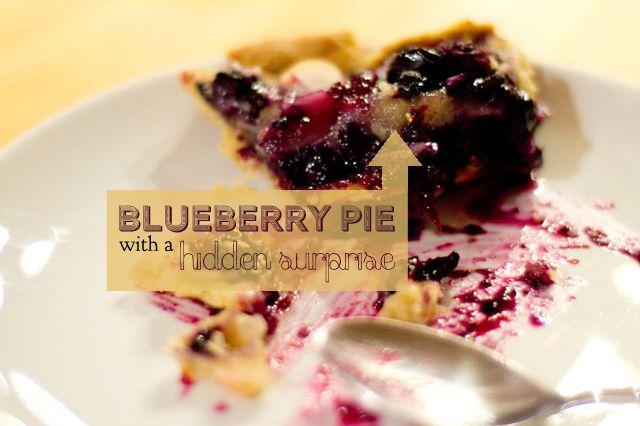 blueberry gluten free pie