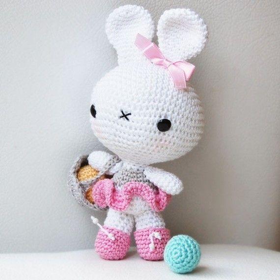 Amigurumi Rabbit Pattern : Amigurumi Bunny Pattern
