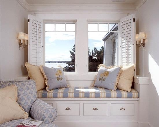 Lovely Bedroom Window Seat Bedroom Pinterest