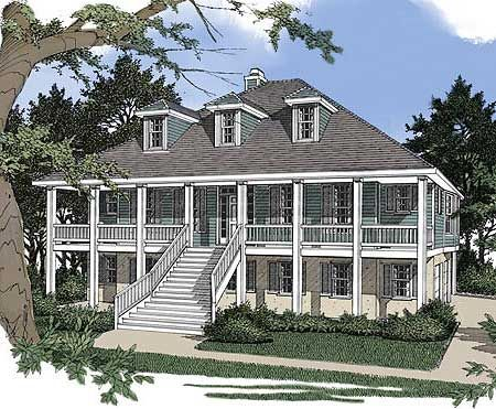 Low Country House Plans Pinterest