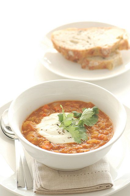 red lentil & preserved lemon soup | Soup's On! | Pinterest
