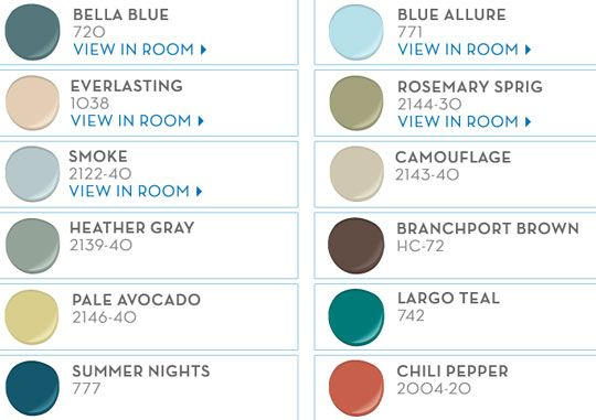 Pb teen benjamin moore paint color picks for Pottery barn teen paint colors