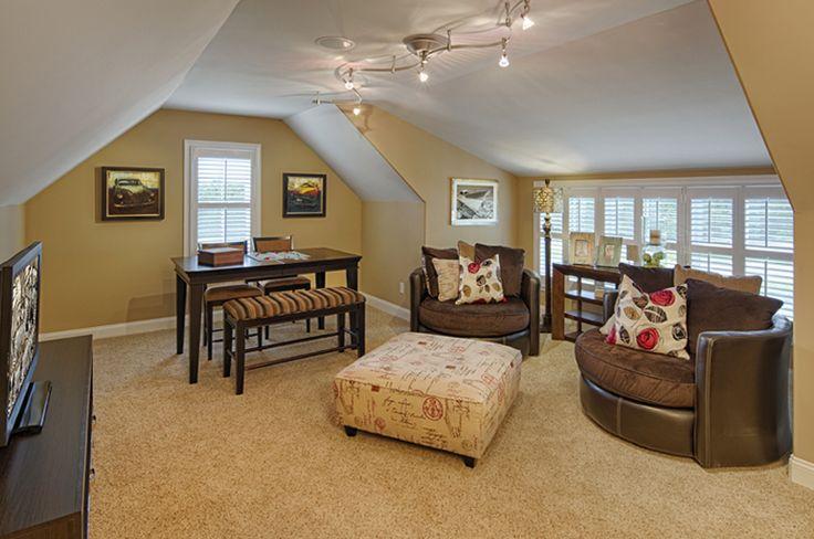 bonus room living spaces pinterest