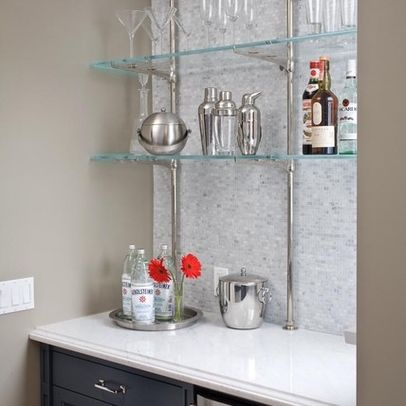 glass bar shelves for bar home bar ideas pinterest