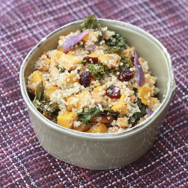 Quinoa Salad with Sweet Potatoes | Sides & Salads | Pinterest