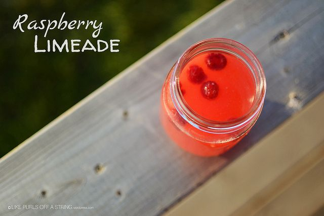 Raspberry Limeade | Lunch and Dinner | Pinterest