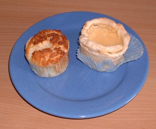 Portuguese Coconut-Custard Tarts (Pastéis De Coco)-I could not print ...