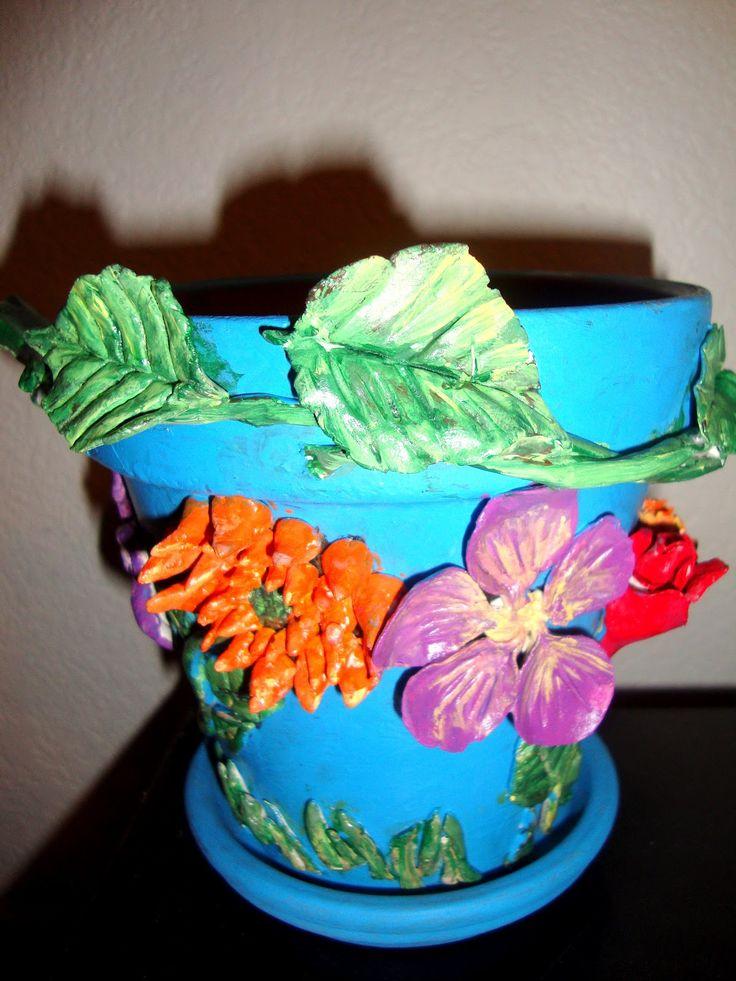 Beautiful Pot Decoration Pinterest