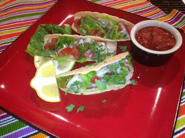 Mexican Ceviche Tacos | Mexican Dishes | Pinterest