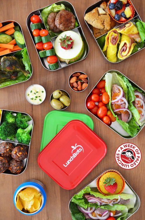 A Week of Paleo Lunchbox Recipes