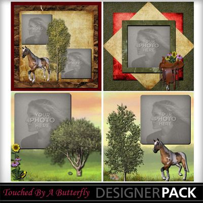 Country Life Template 2   @touchedbyabutterfly @mymemories.com $3.99