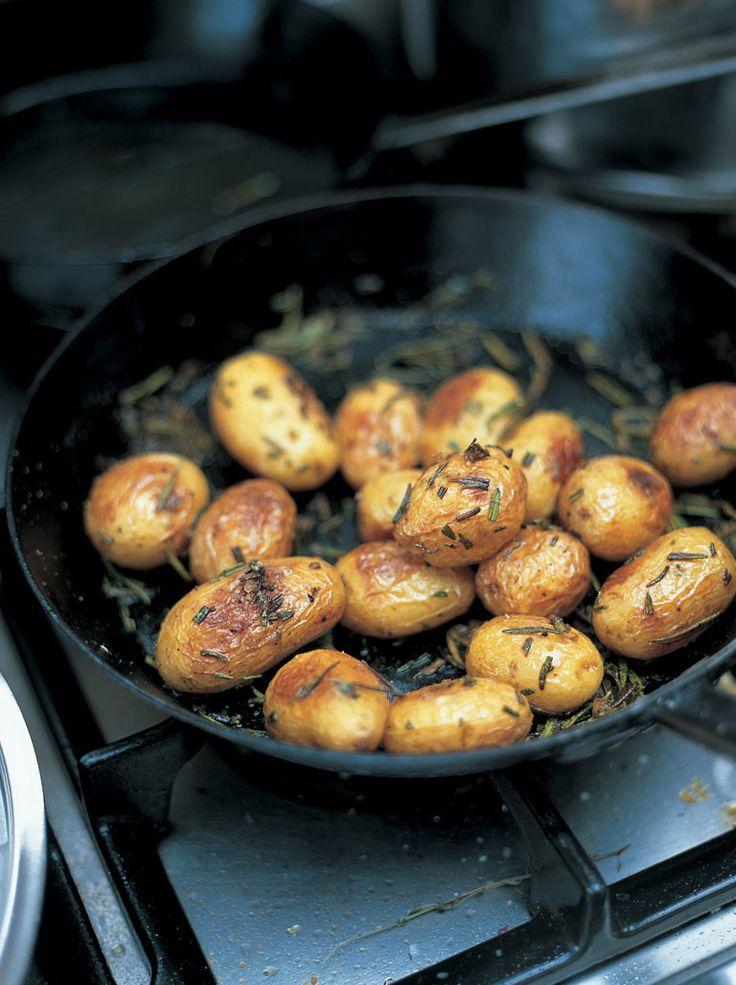 baked new potatoes with sea salt & rosemary | Jamie Oliver | Food ...