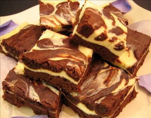 Cream Cheese Brownies- Not a cocoa/brownie fan so might turn out to be ...