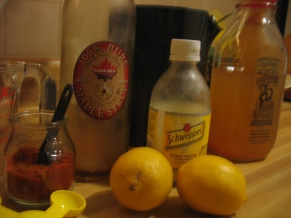 Master Cleanse favorite-recipes healthy-foods
