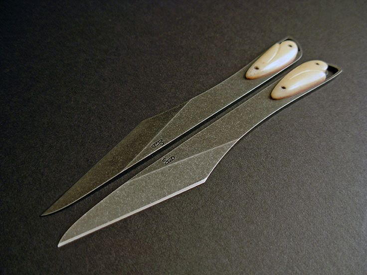 Custom Kiridashi Knife Set 082 Swords Pinterest