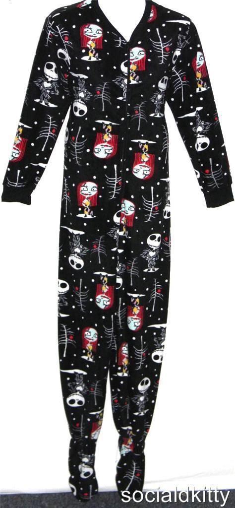 ... ~punk/gothic~NIGHTMARE before CHRISTMAS~onesie~PAJAMAS~torrid JEWEL