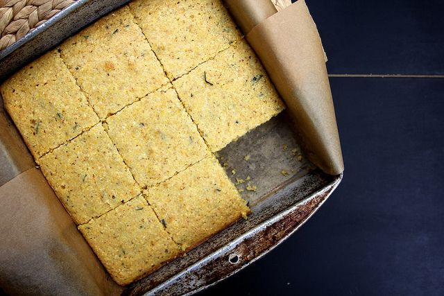 brown butter rosemary orange cornbread (aka best cornbread EVER!)