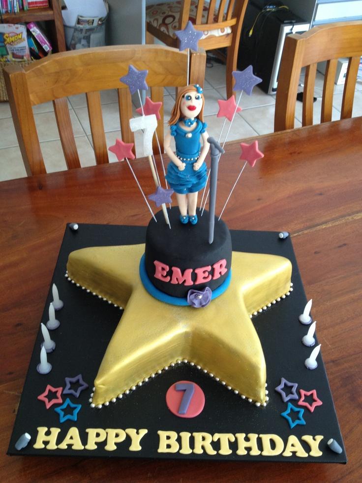 Cake Design For Singer : Singer cake My Cakes Pinterest