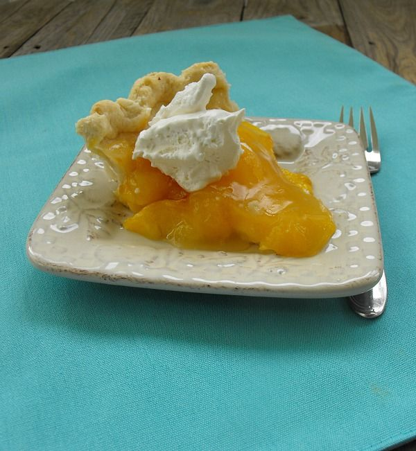 Fresh Peach Pie - I used this filling recipe, but not the crust recipe ...