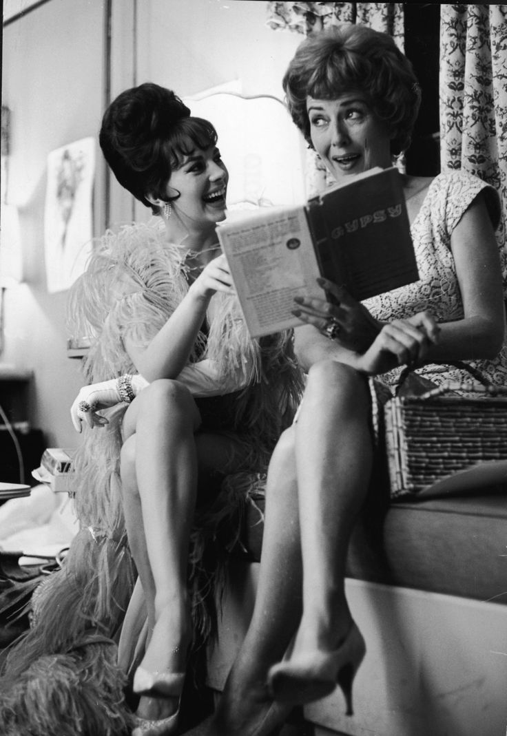 Natalie Wood and Gypsy Rose Lee
