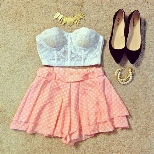 Girly Summer Outfit Fashion Other Girly Things Pinterest